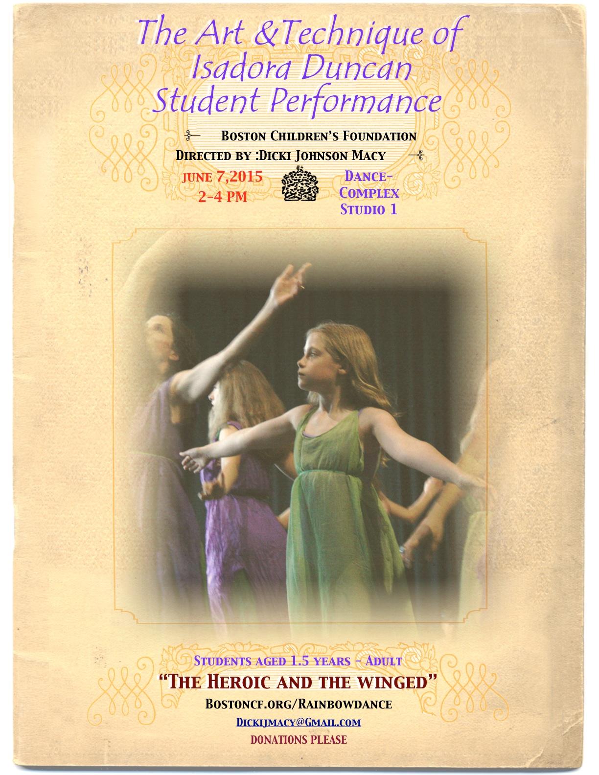 Recital Poster 2015