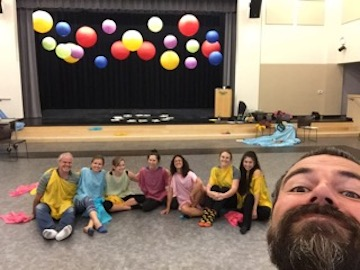 Advanced Rainbowdance Training in Sonoma, 2017