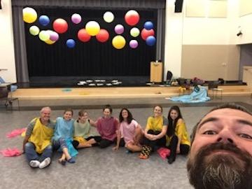 Advanced Rainbowdance Training in Sonoma, 2017